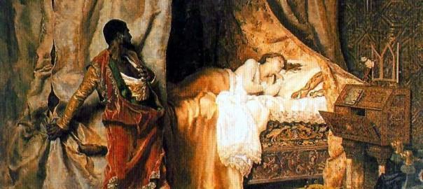5 цитат о ревности на фоне Отелло