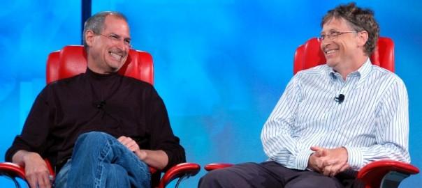 Беседа ДЖобса и Гейтса