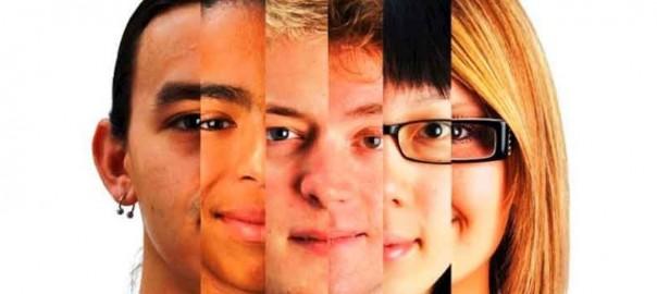 Характер — лица людей, сходят в одно