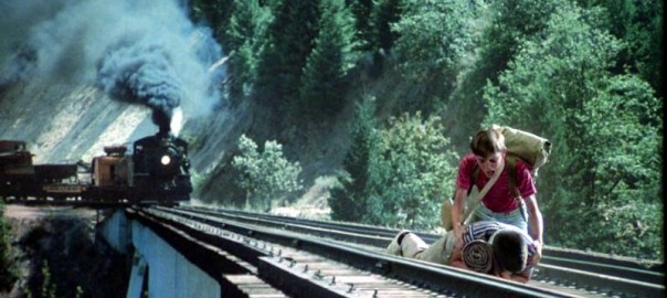 Останься со мной. Сцена с поездом